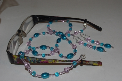 Beaded: Unique  Eyeglass Holder & Earring Sets