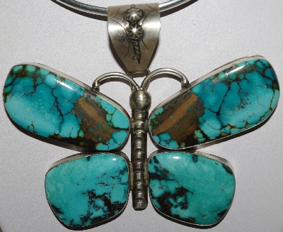 "Turquoise Jewelry ""Blue & Green Turquoise Pins & Pendants"""