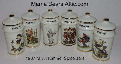 "Collectibles:  ""1987 Gobel M.J. Hummel Spice Jars & Figurines"""
