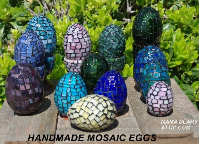 Hand Made: Mosaic Eggs
