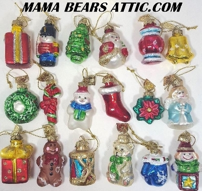 Popular Christmas Collectibles Items: Thomas Pacconi Collectibles &  2004 Thomas Pacconi Advent Replacement Ornaments
