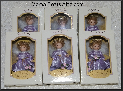 "Popular Collectibles"" 2004 DG Creations Porcelain Doll Ornaments"