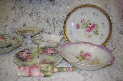 Antique Hand Painted Porcelain Pieces