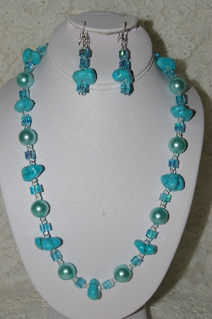 Bead Necklaces: Unique Hand Beaded Necklace & Earring Sets