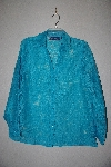"**MBAMG #79-084  ""Susan Graver Burnout Button Front Shirt & Butterknit Tank Set"""