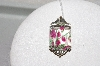 "**MBAMG #79-304  ""Sterling Faceted Art Glass Pendant"""