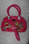 "**MBAMG #79-132  ""Ed Hardy Pink Betty Shoulder Satchel"""