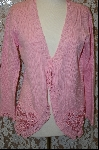 "+MBA #7950  ""StoryBook Knits Limited Edition Pink Hearts Sweater"