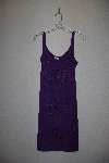 "MBAMG #12-019  ""Kaa Ku Purple Embroidered Summer Dress"""