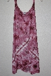 "MBAMG #12-046  ""Kaa Ku Mauve Embroidered Summer Dress"""