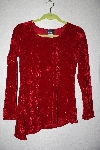 "MBAMG #12-057  ""Libra Fancy Red Crushed Velvet Top"""