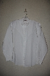 "+MBAMG #11-1228  ""Tillman 1980's White Western Dress Shirt"""