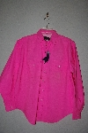 "+MBAMG #11-1100  ""Panhandle Slim Pink Western Dress Shirt"""