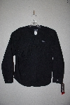 "MBAMG #11-1113  ""RoughRider Black Fancy Western Fringe Shirt"""