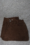 "MBAMG #12-033  Size 6 Long  ""Chadwicks Bagatelle Brown Suede Jeans"""