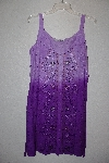"MBAMG #76-028  ""Kaa Ku Purple Embroidered Summer Dress"""
