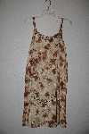 "MBAMG #76-032  ""Kaa Ku  Yellow/Brown Embroidered Summer Dress"""