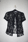 "MBAMG #76-023  ""Newport News Black Lace Blouse"""