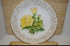"**The Edward Marshall Boehm Rose Plate Collection ""The Peace Rose"""