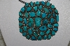 "**MBATQ #3-011  ""Artist Signed Fancy Blue Turquoise Pendant"""