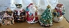 "+MBAMG #24-243  ""Set Of 5 Mr. Christmas Porcelain Music Ornament Collection"""