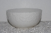 "**MBAMG #003-255    2005   ""Set Of 4 White Ceramic Poinsettia Fruit Bowls"""