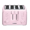 """SOLD""  MBAMG #003-800  ""Cuisinart Pink Compact 4 Slice Toaster"""