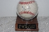 "**MBAMG #003-127  ""Nolan Ryan All-Time Strikeout King Autographed Baseball With Display Case"""