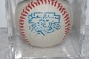 "**MBAMG #003-137  ""1997 Jackie Robinson 50th Anniversary Baseball With Display Cube"""