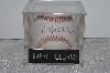 "**MBAMG #003-075  ""1990's Rawlings ""Rafael Belliard"" Autographed Baseball In Acrylic Cube"""