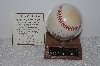 "**MBAMG #018-013  ""1995 World Series Autographed Greg Maddux Baseball With Holder & Cert"""