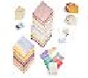 "MBAMG #018-233  ""Memories Direct 2000 Piece Accessorie Collection"""