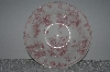 "**MBAMG #019-071  Set Of 4   ""Queens China Pink Chelsea Toile Saucer"""