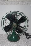 "MBAMG #T06-043  ""Vintage Black & Green GE Table Fan"""