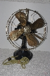 "MBAMG #T06-064  ""Vintage Black & Brass GE Table Fan"""