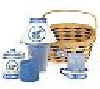 "**MBAMG #0031-H95155  ""Heart Of The Home 7 PC Blueberry Candle Set"""