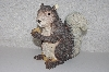 "**MBAMG #0031-064  ""Pair Of 2 Large Resin Squirrel With Acorns"""