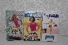 "**MBAMG #099-292  ""Set Of 3 Workout VHS Tapes"""