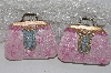 "**MBAMG #099-027  ""2002 Set Of 2 Fancy Resin Purses"""