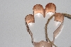 "MBAMG #099-077  ""Older Kitchen Collectibles Copper Hand Cookie Cutter"""