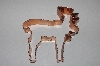 """SOLD""   MBAMG #099-078  ""Large Older Moose Cookie Cutter"""