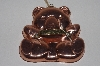 "MBAMG #099-082  ""Vintage Large Lined Copper Bear Cookie Cutter"""