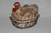 "**MBAMG #00016-0182  ""Temtations Old World 1.5 Qt Covered Rooster Baker"""