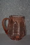 "**MBAAC #01-9449  ""Pink Glass Pitcher"""