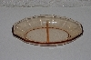 "**MBAAC #01-9472  ""Dark Pink Glass Divided Serving Dish"""