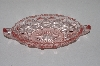 "**MBAAC #1-9460  ""Vintage Pink Glass Small Serving Dish"""