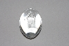 "**MBAAC #01-9499  ""Lead Crystal Lion Etched Egg"""