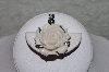 "**MBAAC #01-9437  ""Hand Carved White Bone Rose Pendant"""