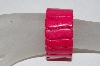 "**MBAAC #01-9375  "" Set Of 2 Fancy Dyed Pink Howlite Gemstone Stretch Bracelet"""