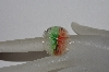 "**MBAAC #01-9517  ""Fancy Art Glass Floral Ring"""